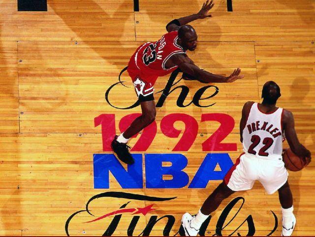 NBA Finals 1992-Bulls Vs Portland