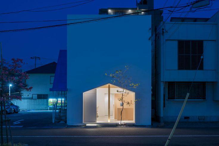 tsubasa iwahashi architects: folm arts beauty salon, osaka