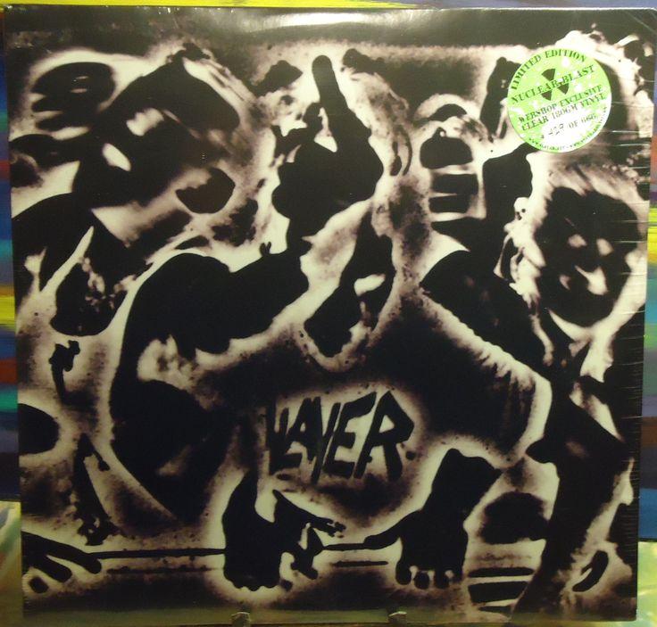 Slayer - Undisputed Attitude - 180g - Clear Ltd. Edition - Vinyl LP - NEW