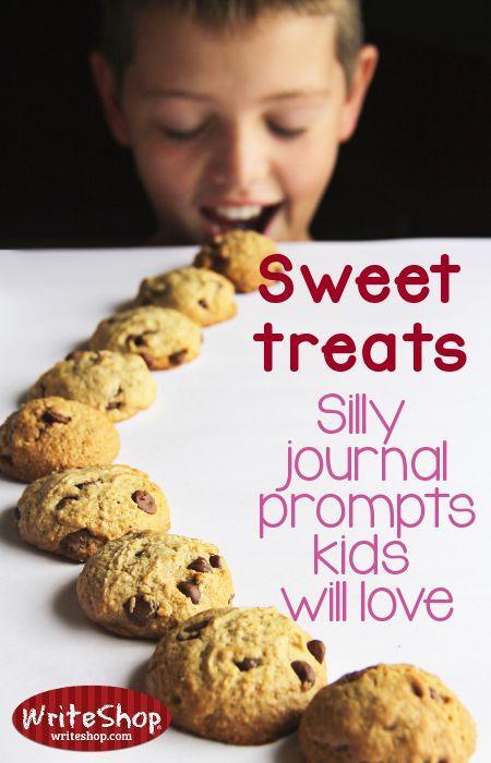 Sweet treats: Silly journal prompts kids will love •WriteShop