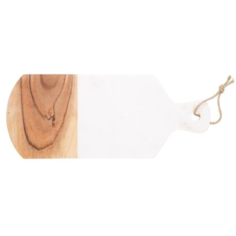 Duo Cheese Board 42cm  Natural