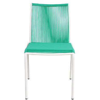 Luftig auch an heißen Tagen sitzt es sich auf den trendigen Lyon-Stühlen mit PU-Rattan. So ist der Sommer auf Terrasse oder Balkon noch entspannter zu genießen. Passend zu den Carrefour-Tischen, in verschiedenen Farben erhältlich.
