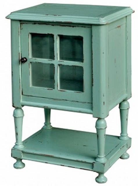 Orleans Side Table with Glass