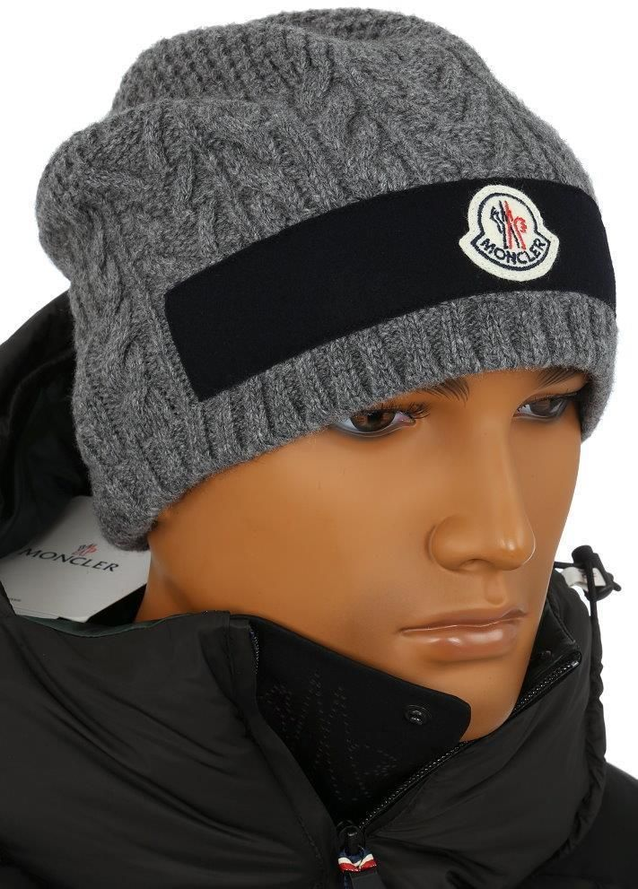 c1d1ce53606 NEW MONCLER MEN S LUXURY WOOL CASHMERE LOGO BEANIE HAT ONE SIZE MADE IN  ITALY  fashion  clothing  shoes  accessories  mensaccessories  hats (ebay  link)