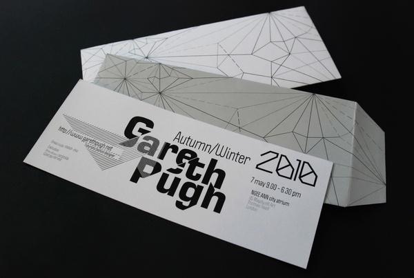 Gareth Pugh by Elena Kharitonova, via BehanceGraphic Design, Business Cards, Graphics Stuff, Gareth Pugh, Graphics Design, Elena Kharitonova, Brand Piece, Fashion Brand