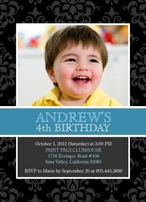 Boys Party Invitation was beautiful invitations sample