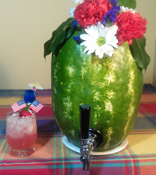 Watermelon Keg: Non Alcohol Watermelon Keg, Summer Day, Raybansunglass Rayban, Alcohol Drinks, Tasting Simple Parties Ideas, Rum Punch, Tasting Simple Ideas, Outlets Raybansunglass, Drinks Mixed