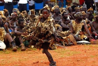 Ncwala traditional ceremony. Ngoni warrior. Eastern Province #Zambia