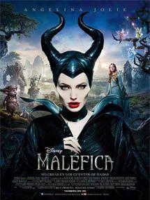 Poster mediano de Maleficent (Maléfica), esta de moda, pues la pongo....