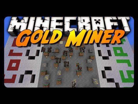 ▶ Minecraft: GOLD MINER! (Classic Mini-Game) - YouTube