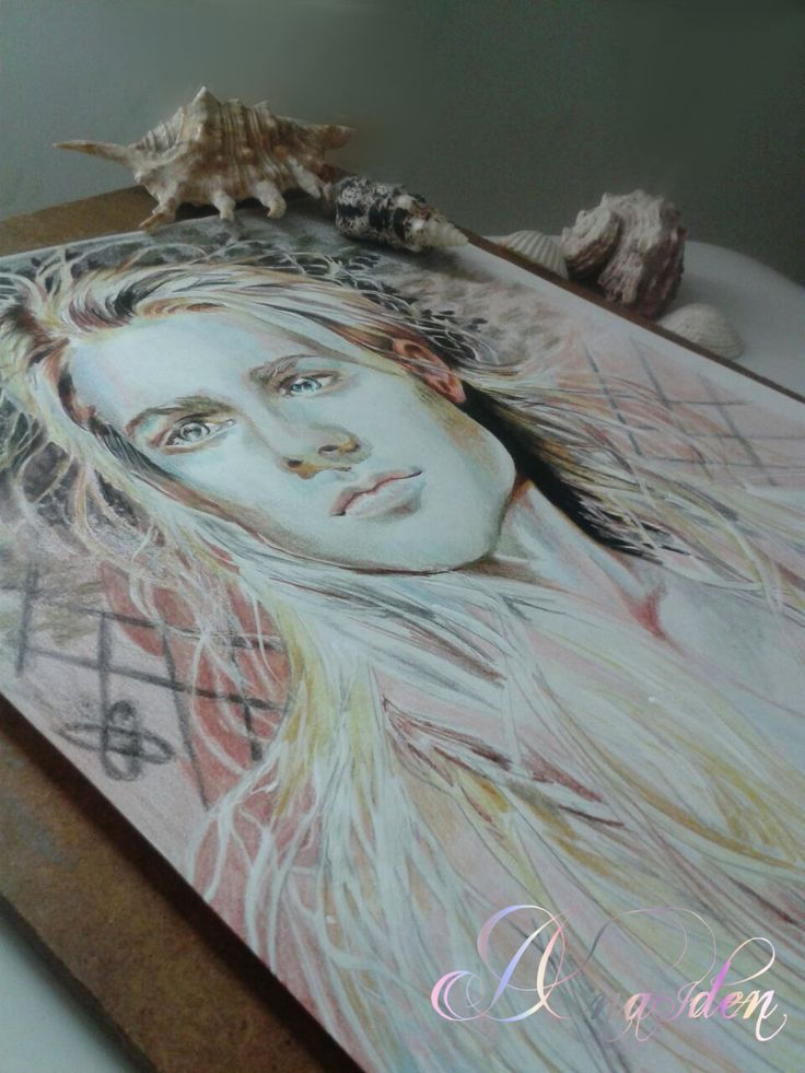 #ianhencher #actor #creative #model #vampire #elf #drawing by #danaiden