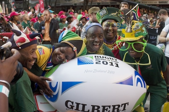 the springboks world cup farewell in sandton