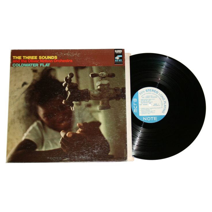 """EX The Three Sounds The Oliver Nelson Orchestra """"Coldwater Flat"""" BST 84285 