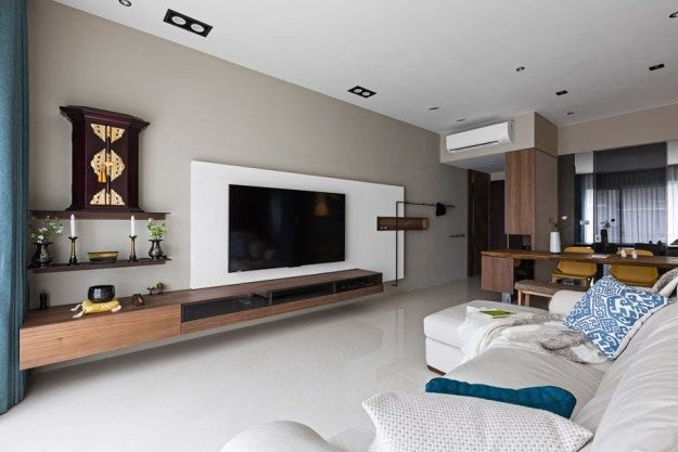 Japanese living in Taiwan by HOZO interior design 14 Living room - Living Room Ideas For Apartments
