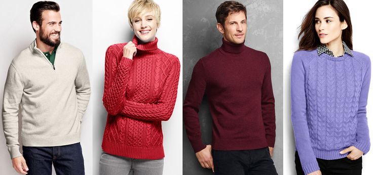 Lands End #CyberMonday Promo: 50% Off Outerwear and 40% Off everything else plus Free Shipping get #Coupon Promo ends Today, hurry up & save more on #womenssweaters & #menssweaters.