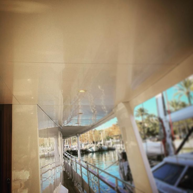 Deck heads all ready done #superyacht #megayacht #yacht #yachting #palmayachteye #teaktock #barco #boat #igers #palma #mallorca #balears http://Teaktock.es