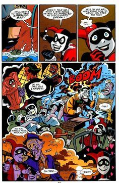 "Mad Love. From the Batman Comic :Mad Love, mostly about the Joker and Harley Quinn.. an HIE war Hem"": l! Singin! HERE 'e: fredag N u, TD WELL TD Cg ME. HE 5 an"