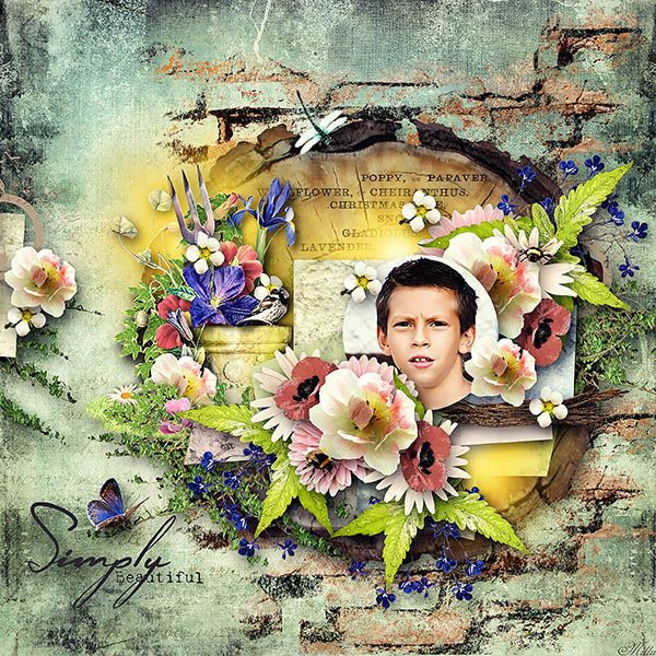 BLOOM mega kit by G & T Designs template Lemon Soda Part2 by Eudora Designs