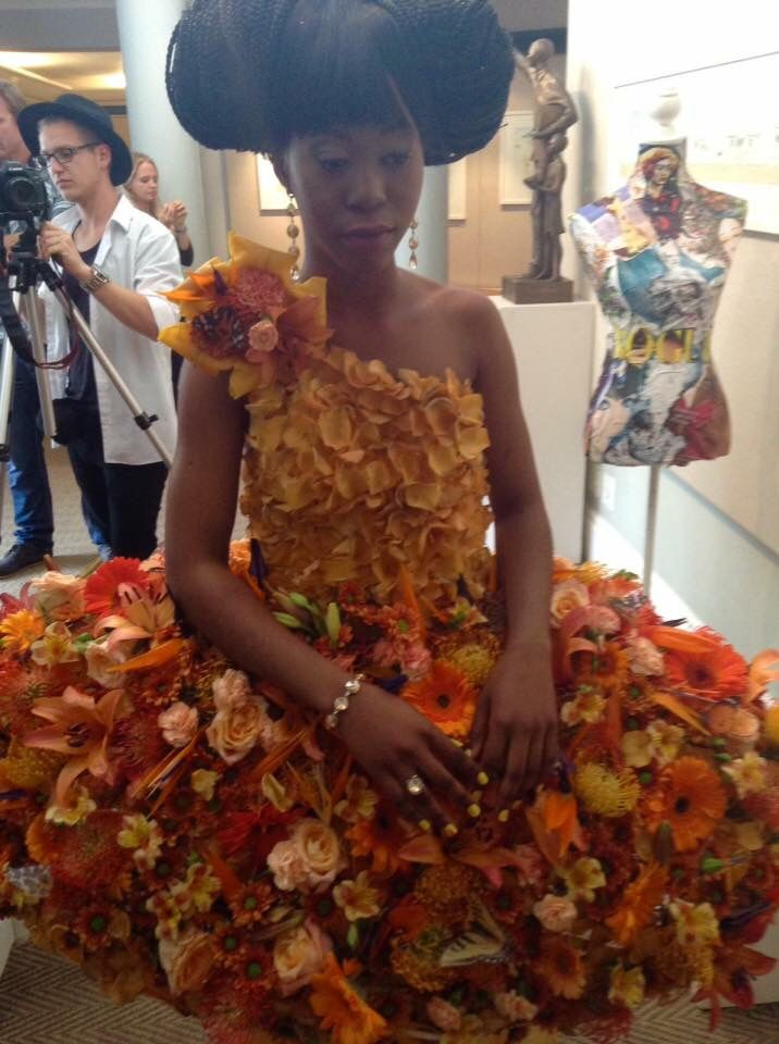 Flower Dresses Inspired by Gucci Flora, Garden Collection Mandarin  Floral Design / Styling: Fayette