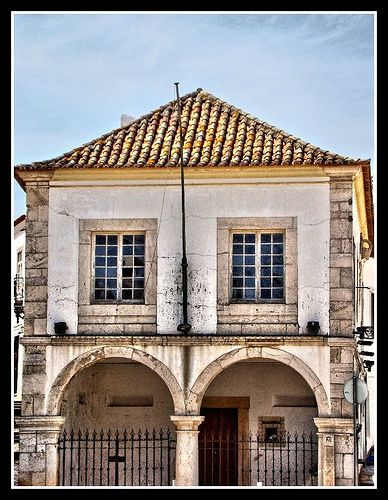 First slave market in Europe. Lagos, Portugal