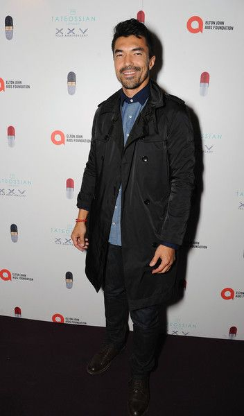 Ian Anthony Dale Photos - Tateossian & David Furnish Party - Arrivals - London Collections Men SS16 - Zimbio