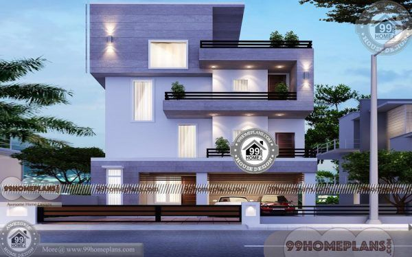 3 Storey House Plans For Small Lots 30 X 30 Narrow Space City Homes 3 Storey House Design New House Plans Model House Plan