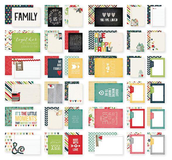 Simple+Stories+-+SNAP+Collection+-+4+x+6+Cards+-+Homespun+at+Scrapbook.com