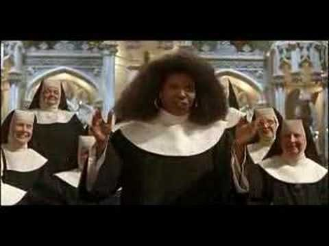 Sister Act - I Will Follow Him ~ Don't you just love the rocking nun on the piano?