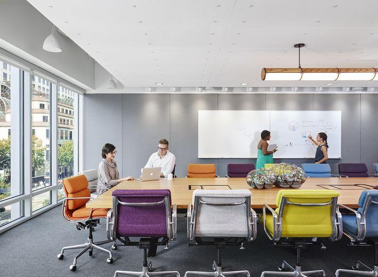 A Look Inside Dropboxs Super Cool Austin Office Interior DesignOffice