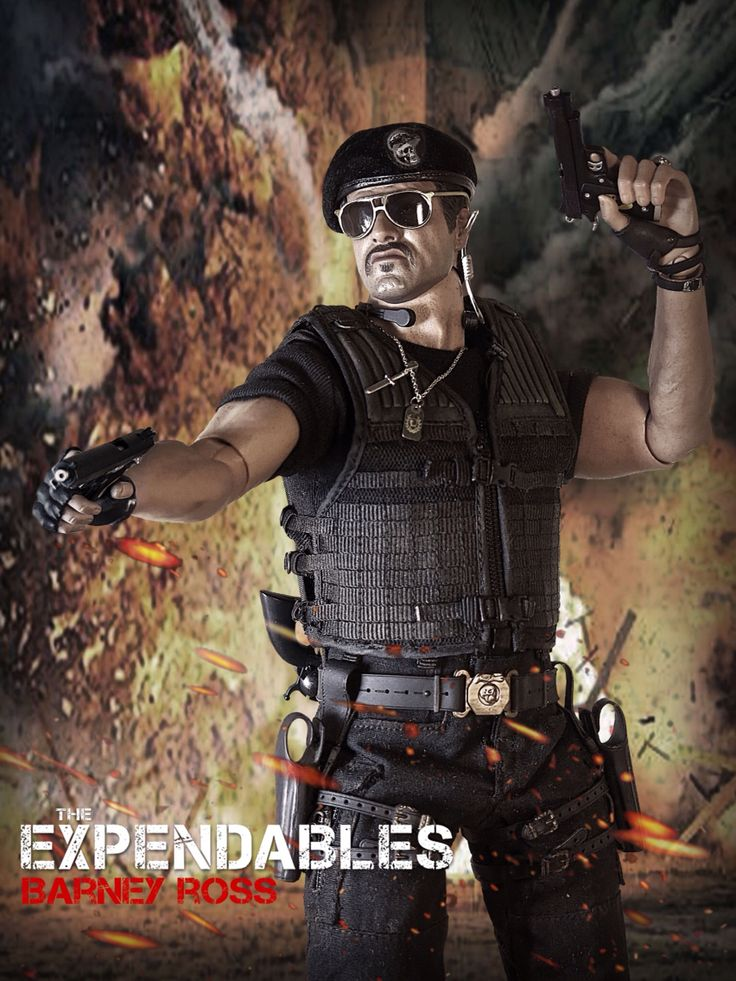 The Expendables: Barney Ross 1/6 Costom Kitbash #Expendables