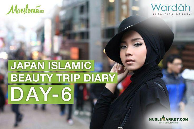 Japan Islamic Beauty Trip: Hi Harajuku, Hi Tokyo from 150 m height.