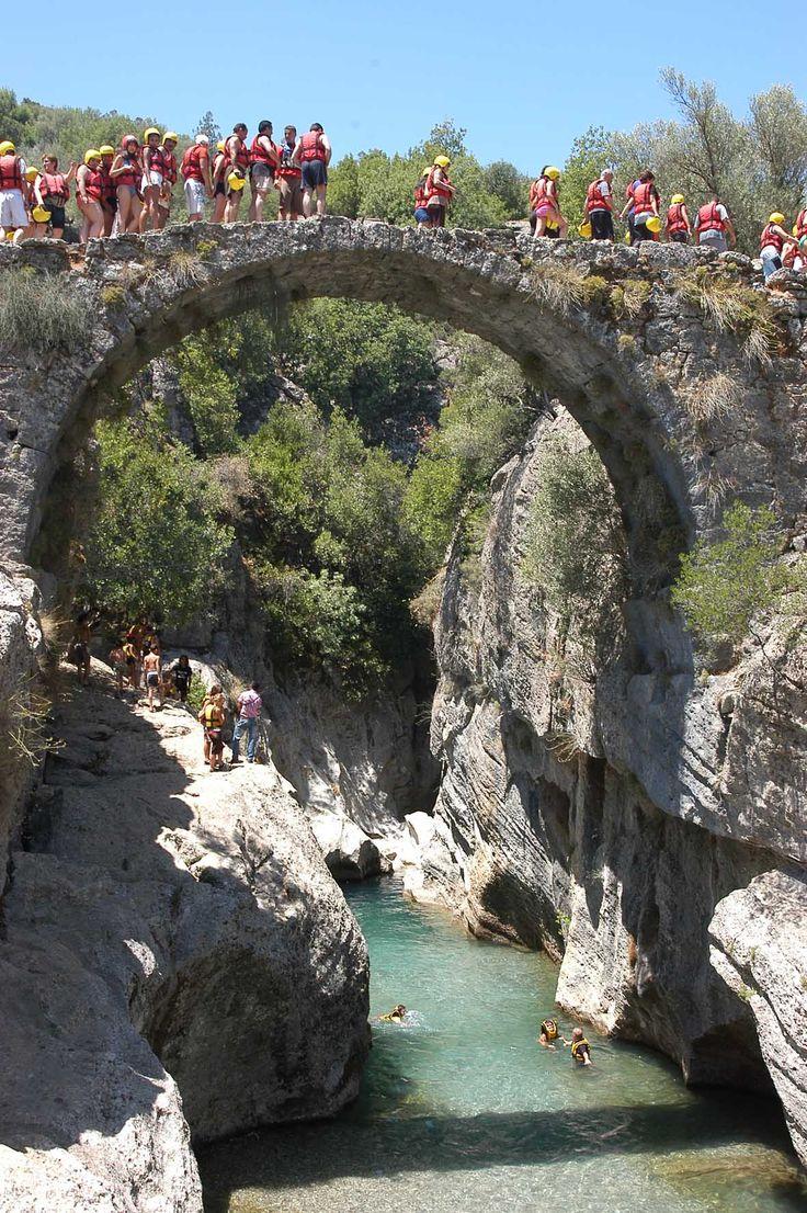 Dim Çayı Köprülü Kanyon Manavgat-Antalya