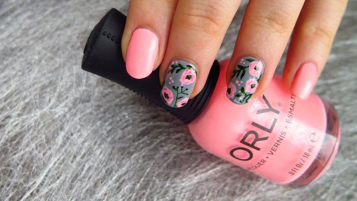 Wiosenne Paznokcie w Kwiaty - 15 Inspiracji Które Was Zachwycą