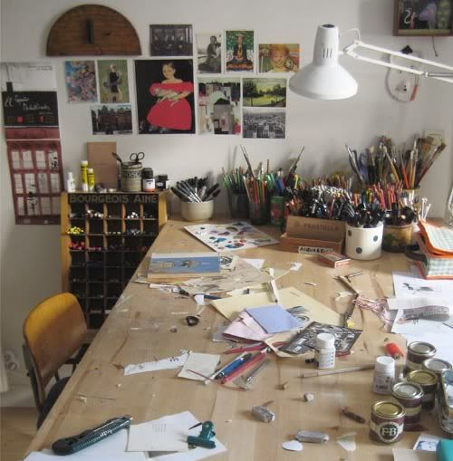 craft/drawing/painting desk.