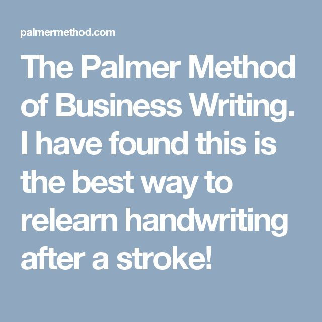 Palmer Method