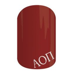 Alpha Omicron Pi Sorority nail wraps! Click the picture to get them now! No dry time, non-toxic, vegan, allergy friendly and lasts about 2 weeks on your mani!