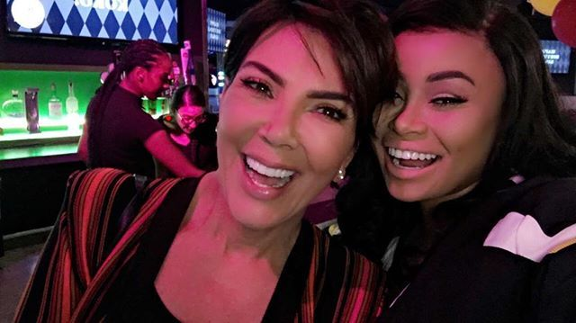 Pin for Later: Blac Chyna Parties With the Kardashian Family For Khloé's Birthday