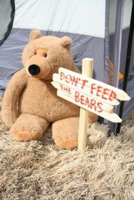 camping themed party ideas - Google Search