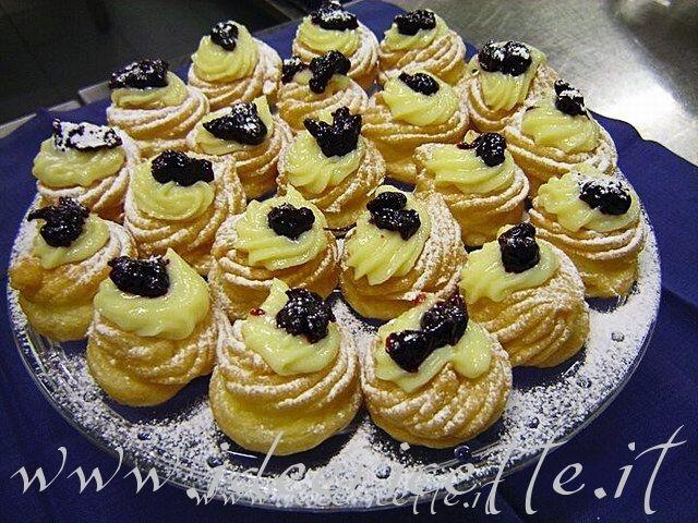 Ricette Zeppole di S. Giuseppe dello chef Angelo Stea