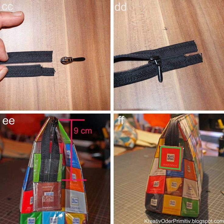 Kreativ oder Primitiv?: Ritter Sport Tasche: Nähanleitung