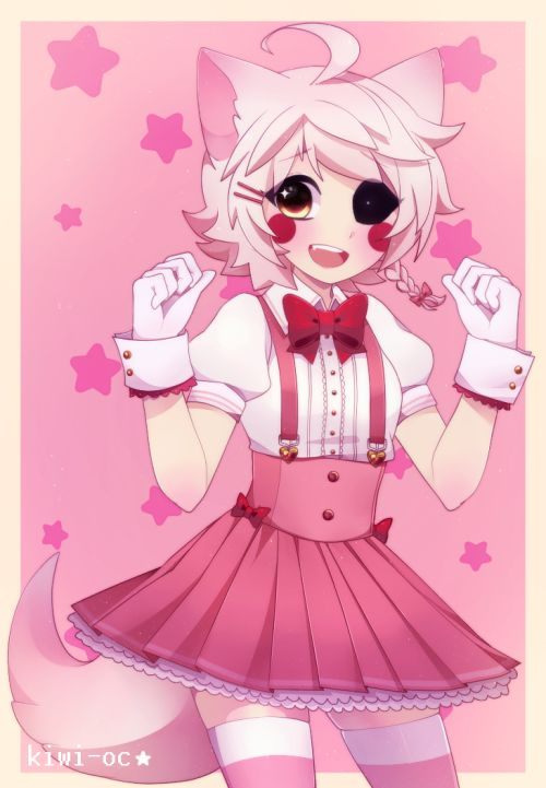 MANGLE'S NOT A GIRL- *gets attacked by the millions of fanboys* (But seriously this is adorable.)