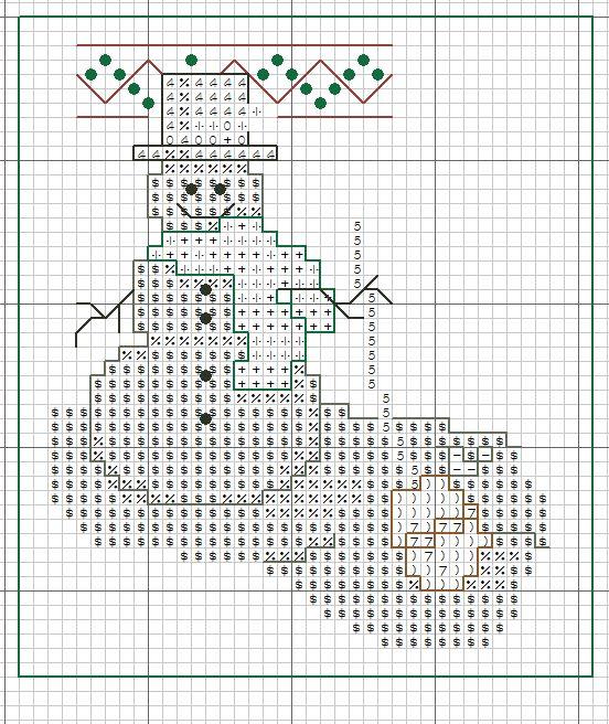 Mejores 19 imágenes de Mini botas navideñas en Pinterest | Punto de ...