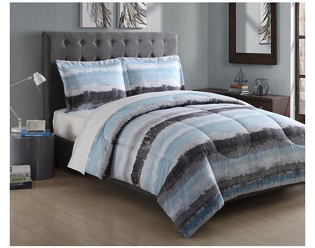 Essential Home 3-piece Microfiber Comforter Sets (Many Choices) $9.99 (kmart.com)