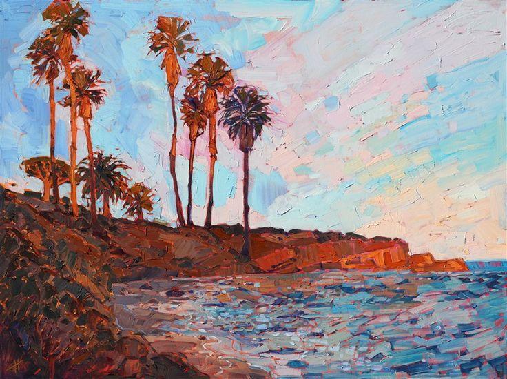 """""""La Jolla Cove"""" by Erin Hanson, 2017"""
