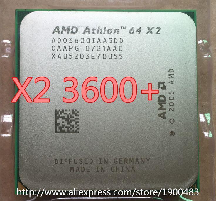 AMD Athlon 64 X2 3600+ CPU Processor (2.0Ghz/ 1M /1000GHz) Socket am2 (working 100% )