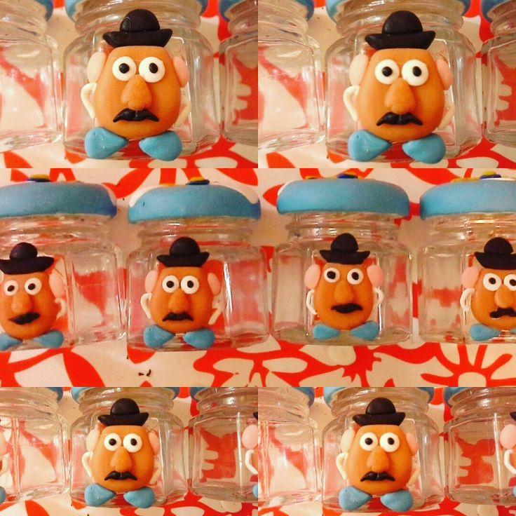Seño cara de papa Toys Story Porcelana fria