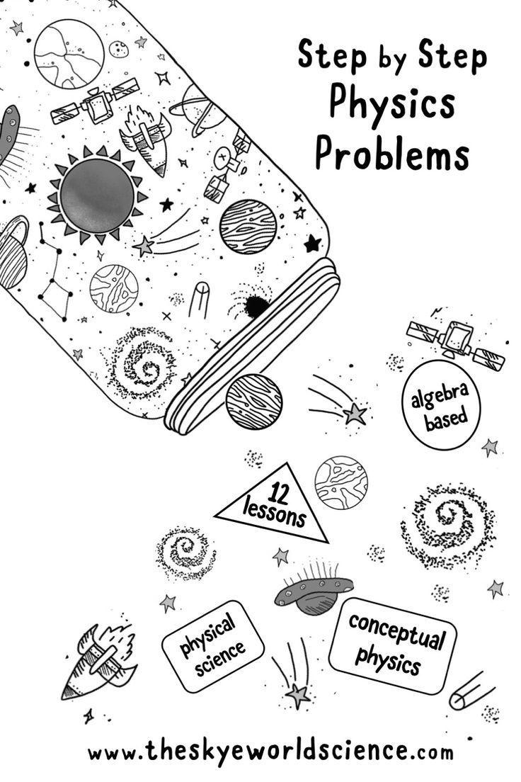 Bundle of Lessons - Physics Problems Worksheets   Physics problems [ 1104 x 736 Pixel ]