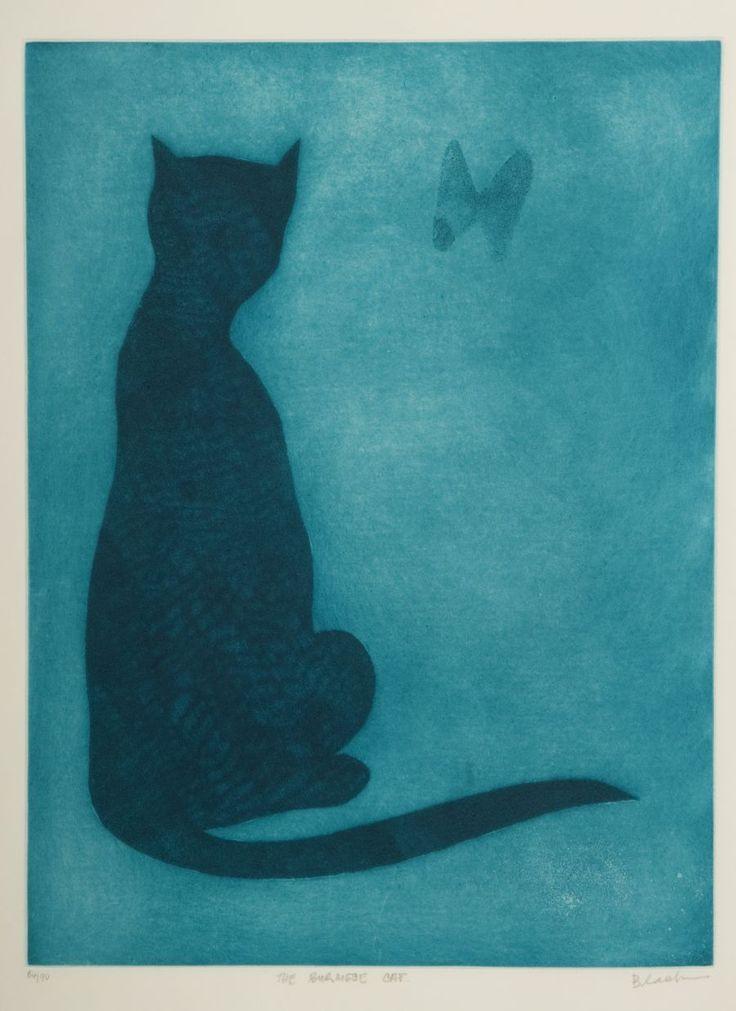 Charles Blackman, The Burmese Cat