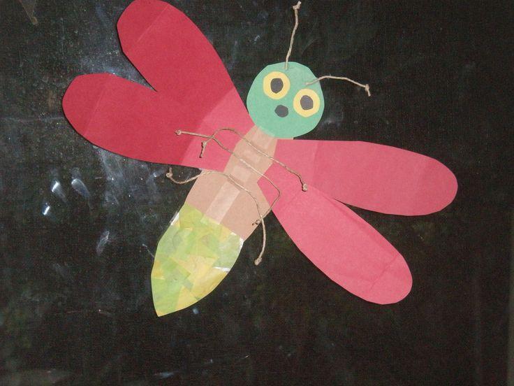Paper Craft Firefly Pinterest