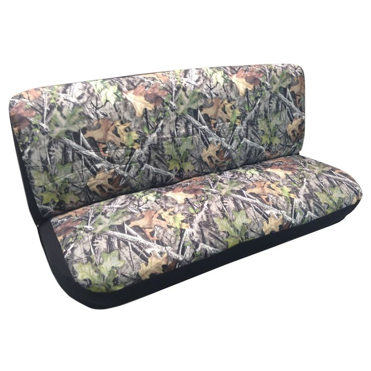 Unique Camo (Green) Bench Seat Cover Camouflage Gray Ford Chevy Dodge Truck Car (Color)